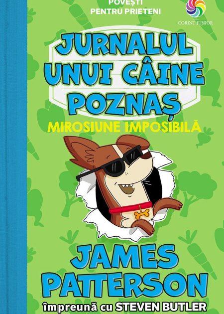 Jurnalul-unui-caine-poznas-3-Mirosiune-imposibila-Patterson-carti-copii-editura-corint-junior
