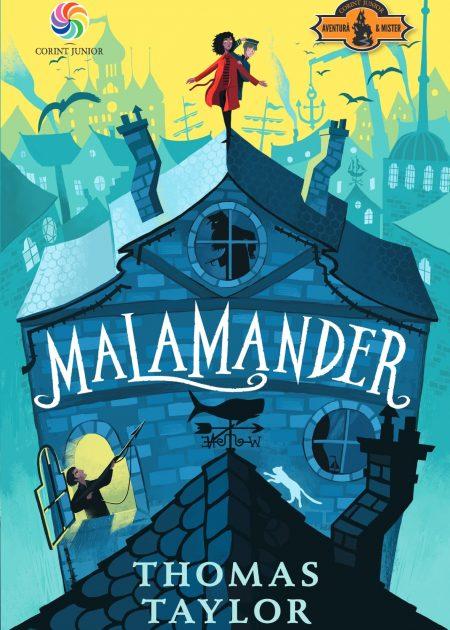 Malamander-Thomas-Taylor-SmartAge-carti-copii-editura-corint-junior
