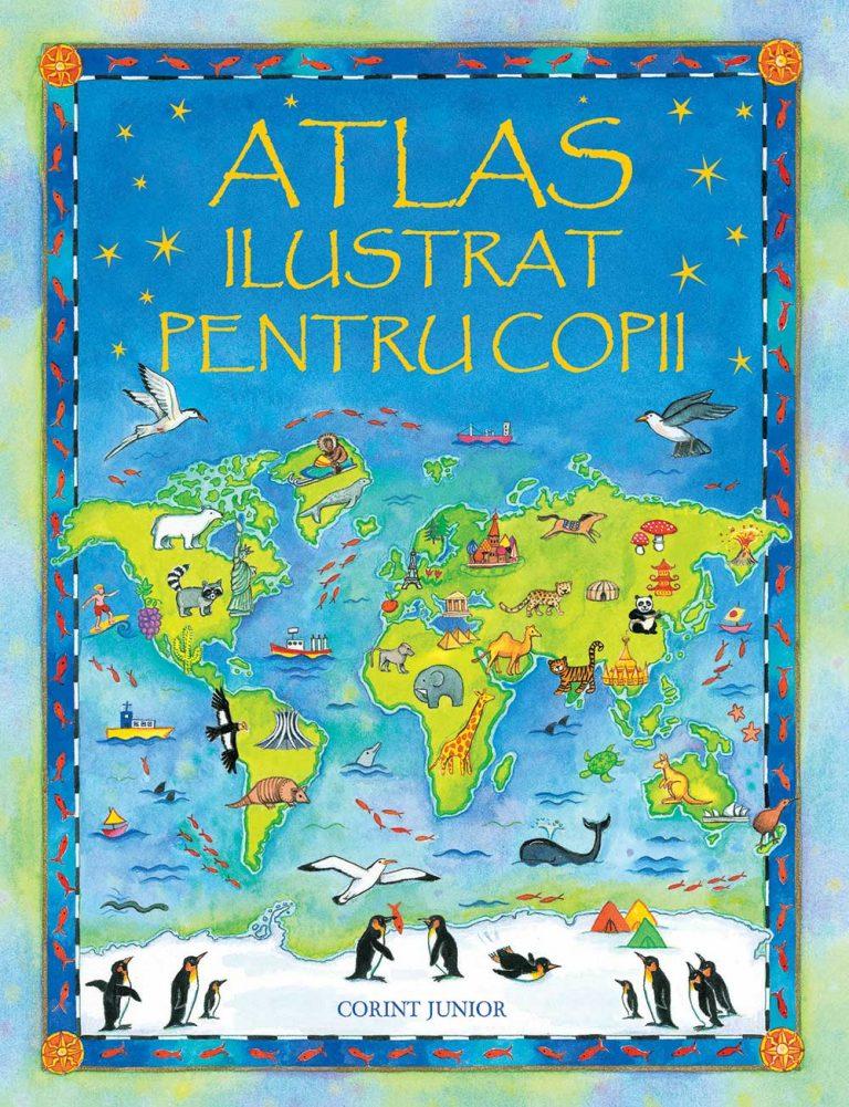 Atlas-ilustrat-pentru-copii-Usborne-carti-copii-editura-corint-junior