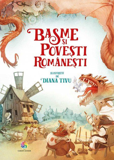 Basme-si-povesti-romanesti-Diana-Tivu-carti-copii-editura-corint-junior