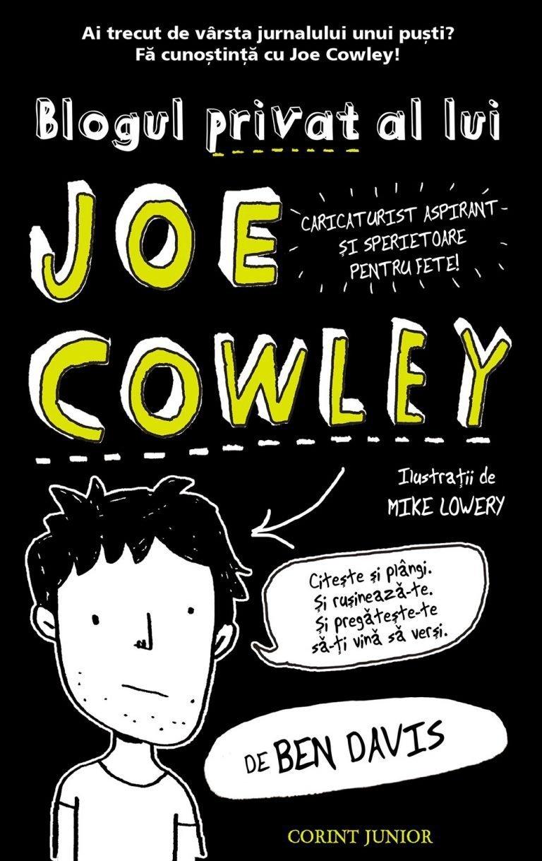 Blogul-privat-al-lui-Joe-Cowley-carti-copii-editura-corint-junior