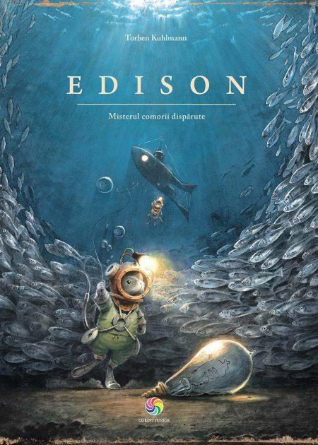 Edison-Misterul-comorii-disparute-carti-copii-editura-corint-junior