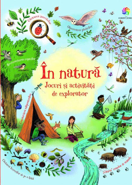 In natura-Jocuri-activitati-explorator-carti-copii-editura-corint-junior