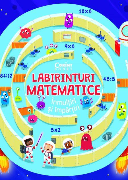 Labirinturi-matematice-inmultiri-impartiri-carti-copii-editura-corint-junior