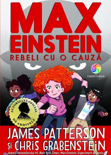 Max-Einstein-Rebeli-cu-o-cauza-carti-copii-Patterson-editura-corint-junior