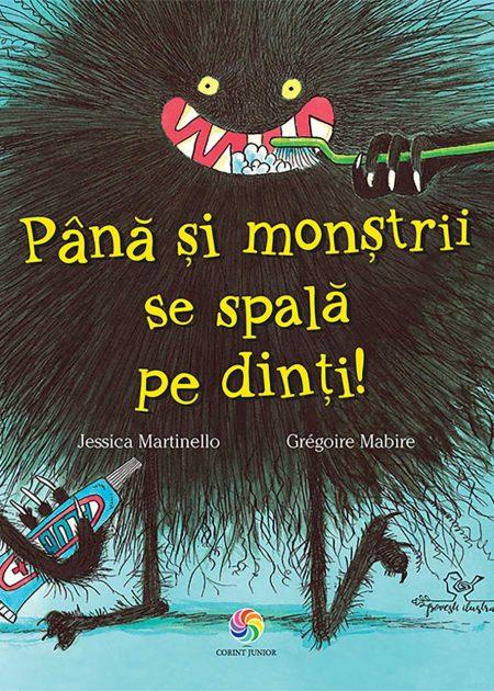 Pana-si-monstrii-se-spala-pe-dinti-ilustrate-carti-copii-editura-corint-junior