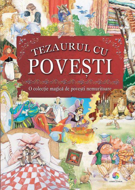 Tezaurul-cu-povesti-ilustrate-carti-copii-editura-corint-junior