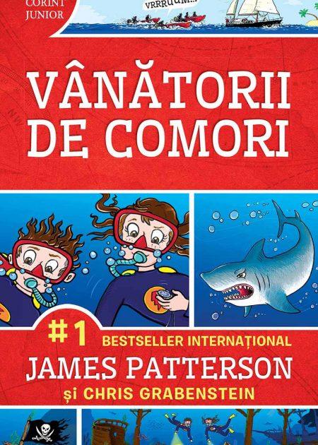 Vanatorii-de-comori-patterson-grabenstein-aventura-si-mister-carti-copii-editura-corint-junior-editie-noua