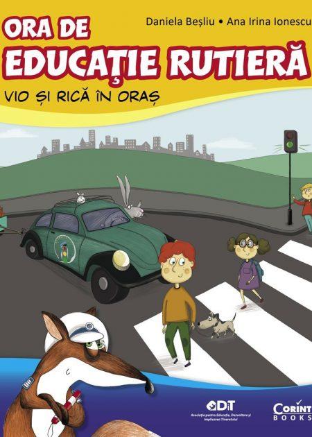 Ora-de-educatie-rutiera-Vio-si-Rica-in-oras-carti-copii-editura-corint-junior