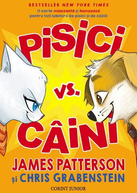 Pisici-vs-caini-James-Patterson-carti-copii-editura-corint-junior-1